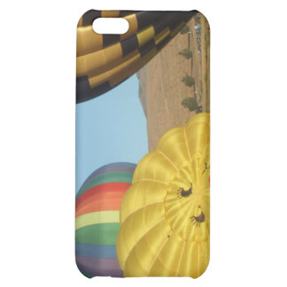 Smiling Happy Hot Air Balloons iPhone 5C Cover