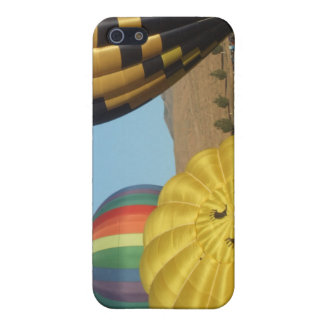 Smiling Happy Hot Air Balloons Cover For iPhone 5