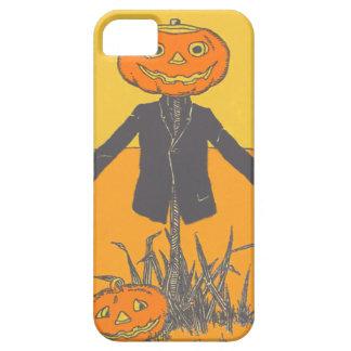 Smiling Happy Scarecrow Jack O' Lantern iPhone SE/5/5s Case