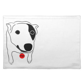 Smiling Heeler Cattle Dog Placemat