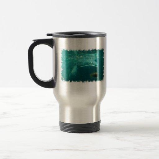 Smiling Hippo  Travel Mug