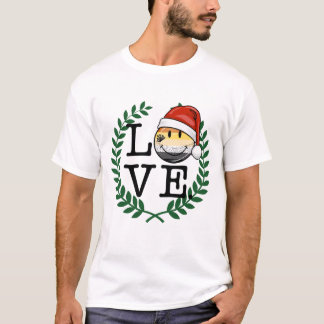 Smiling Holiday Gay Bear Pride Flag T-Shirt