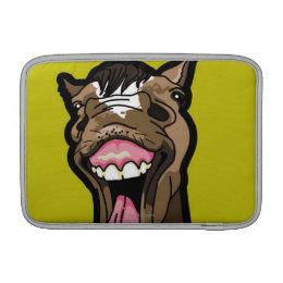 Smiling Horse MacBook Sleeve