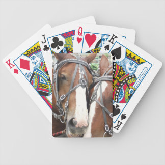 Smiling Horse Playing Cards