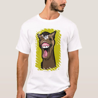 Smiling Horse T-Shirt