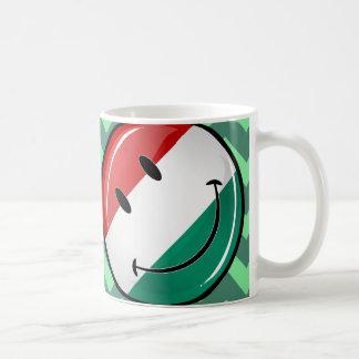 Smiling Hungarian Flag Coffee Mug
