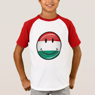 Smiling Hungarian Flag T-Shirt