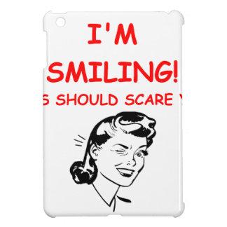 smiling iPad mini cover