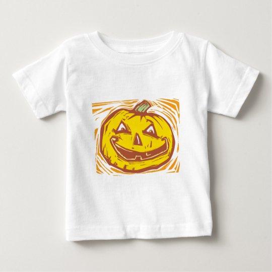 smiling Jack-o-Lantern Baby T-Shirt