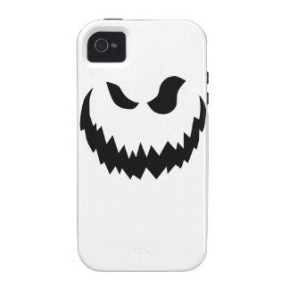 Smiling Jack-O-Lantern Case-Mate iPhone 4 Cases