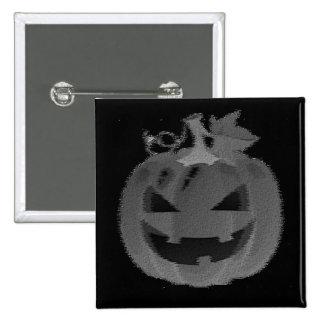 Smiling Jack-o-lantern Pinback Button