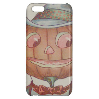 Smiling Jack O' Lantern Pumpkin Suit iPhone 5C Case