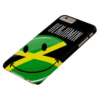 Smiling Jamaican Flag Barely There iPhone 6 Plus Case