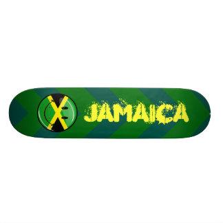 Smiling Jamaican Flag Skateboard
