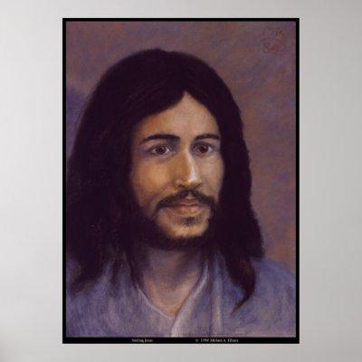 smiling_jesus_jewish_jesus_image_poster-