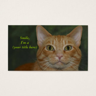 Smiling Kitty Business Card