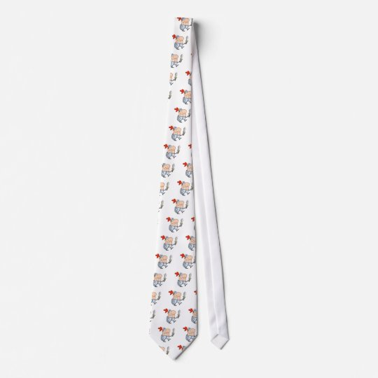Smiling-knight-with-sword Tie