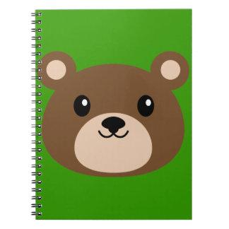 Smiling Kuma Spiral Notebook