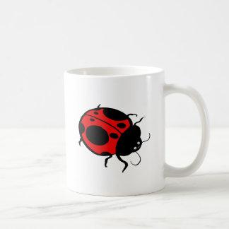 Smiling Ladybug  - Coffee Mug