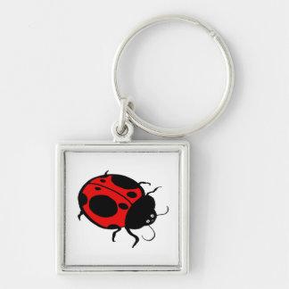 Smiling Ladybug  - Key Chains