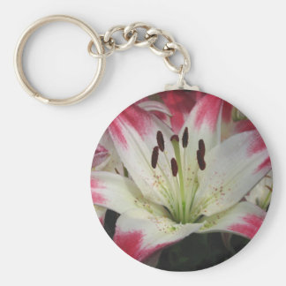 Smiling Lily ~ keychain
