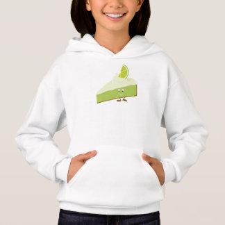 Smiling lime pie slice hoodie