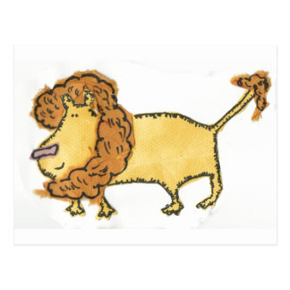 Smiling Lion Postcard