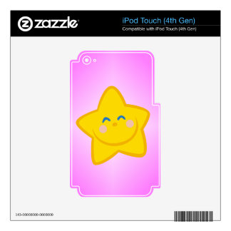 Smiling Little Star iPod Touch 4G Skin