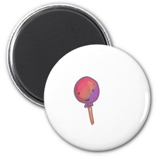 Smiling Lollipop Magnet