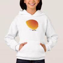 Smiling Mango Character Hoodie