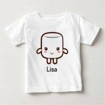 Smiling marshmallow baby T-Shirt