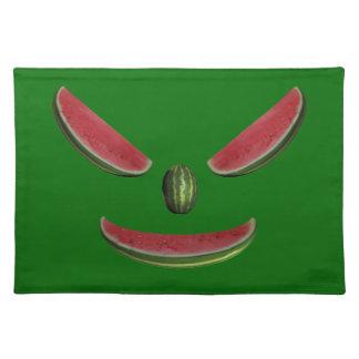 Smiling Melon Face Cloth Place Mat