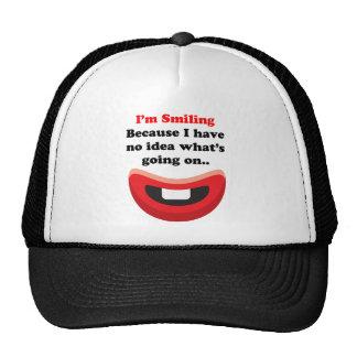 Smiling Mesh Hats