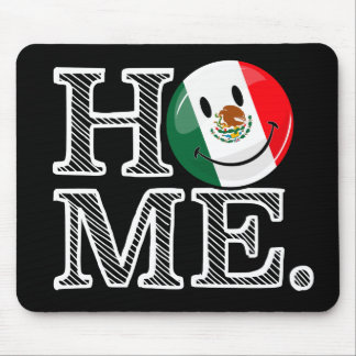 Smiling Mexican Flag Housewarming Mouse Pad