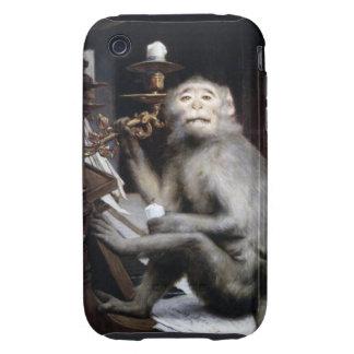 Smiling Monkey iPhone 3 Tough Case