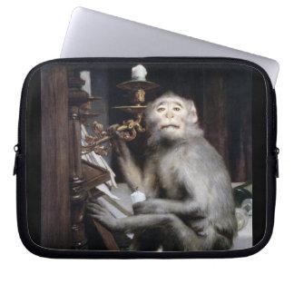 Smiling Monkey Laptop Sleeve
