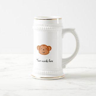 Smiling monkey coffee mug