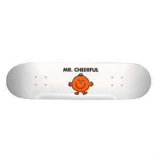 Smiling Mr. Cheerful Skateboard Decks