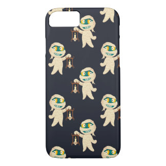 Smiling mummies pattern iPhone 8/7 case