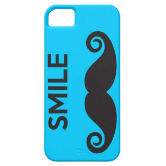 Smiling Mustache! Turn it sideways and SNAP! iPhone SE/5/5s Case