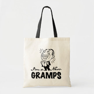 Smiling New Gramps T-shirts and Gifts Canvas Bag