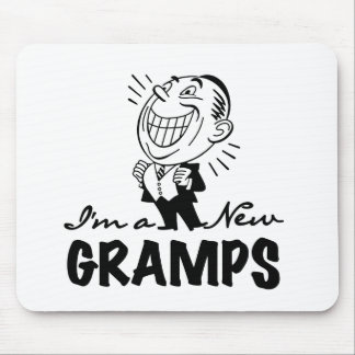 Smiling New Gramps T-shirts and Gifts Mouse Pad