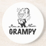 Smiling New Grampy T-shirts and Gifts Coaster