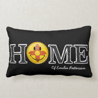 Smiling New Mexico Flag house Warmer Pillow