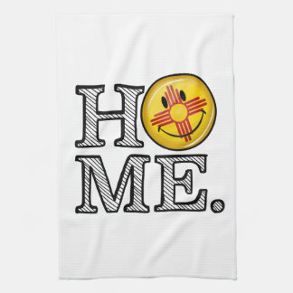 Smiling New Mexico Flag house Warmer Towel