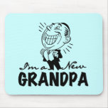 Smiling New Opa T-shirts and Gifts Mousepad