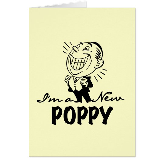 Smiling New Poppy T-shirts and Gifts Card