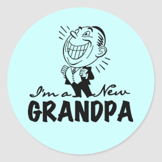 Smiling New Poppy T-shirts and Gifts Classic Round Sticker