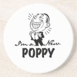 Smiling New Poppy T-shirts and Gifts Coasters