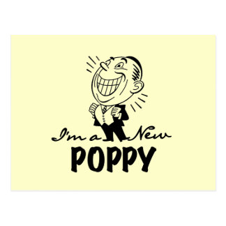 Smiling New Poppy T-shirts and Gifts Postcard